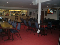 Clubhouse interior showing main bar area